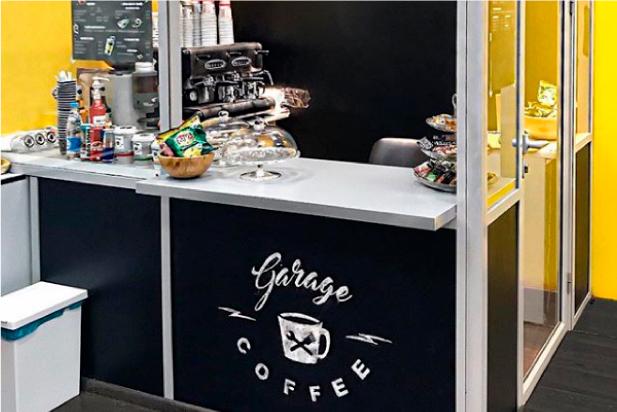 Кофейня Garage Coffee а автотехцентер Авто Игл